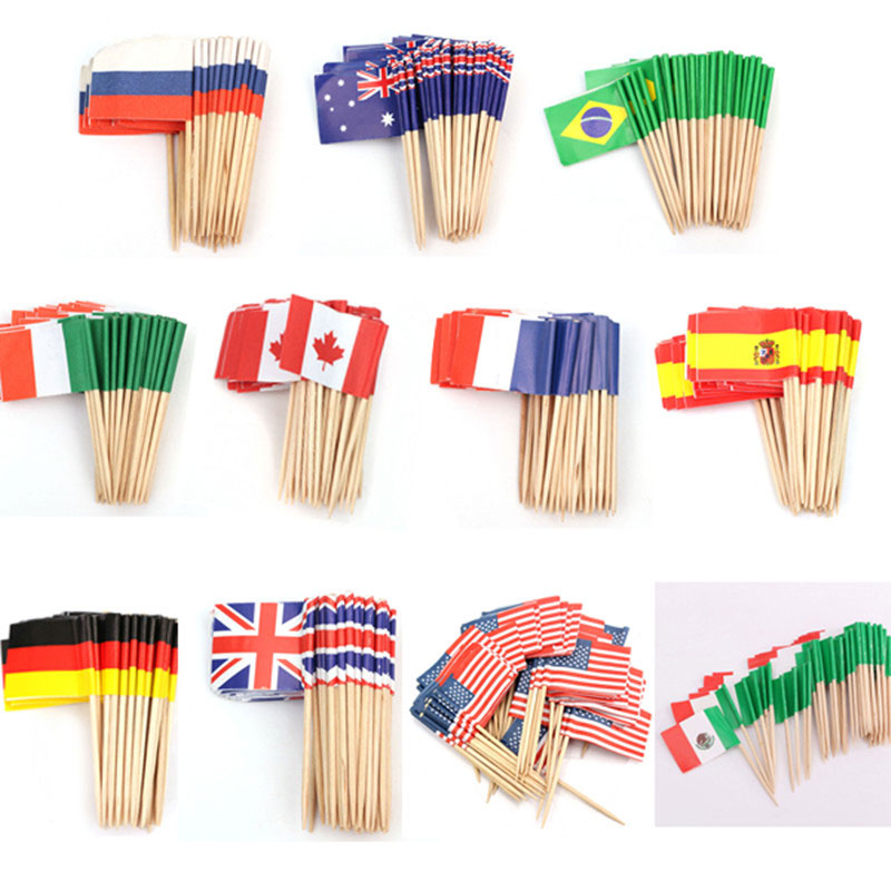 Flags with Rod